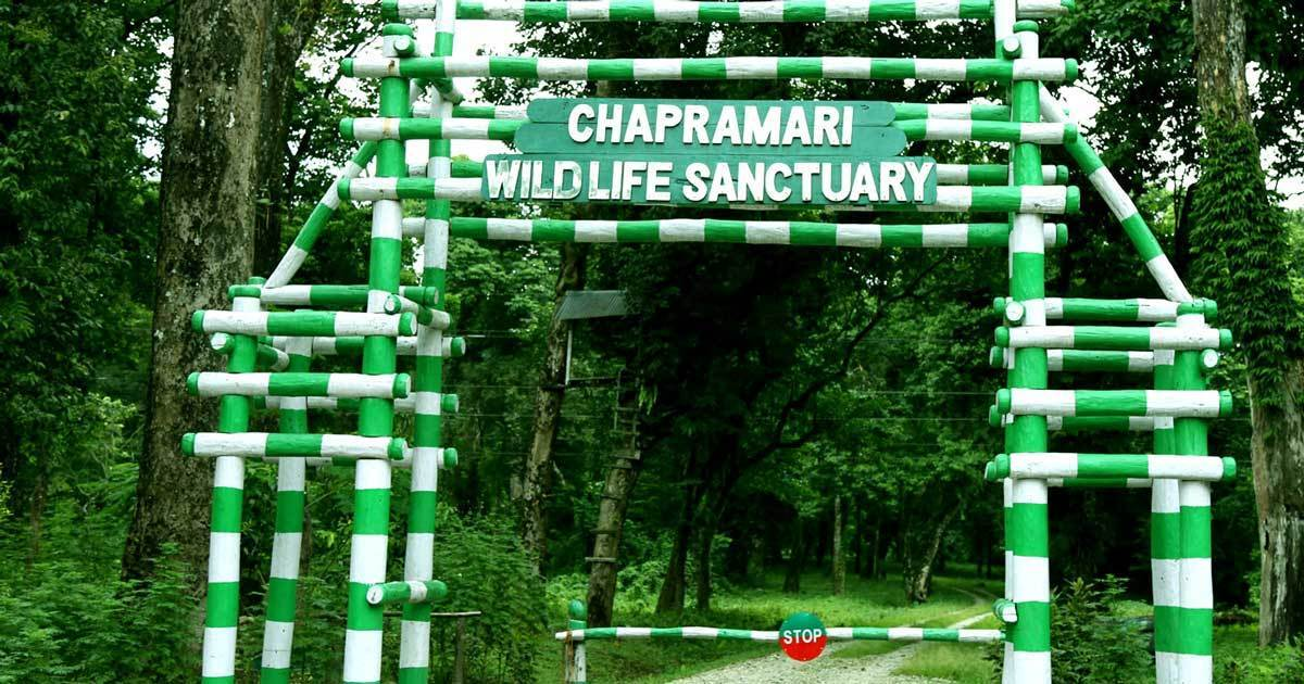 Chapramari-Wildlife-Sanctuary-Entrance
