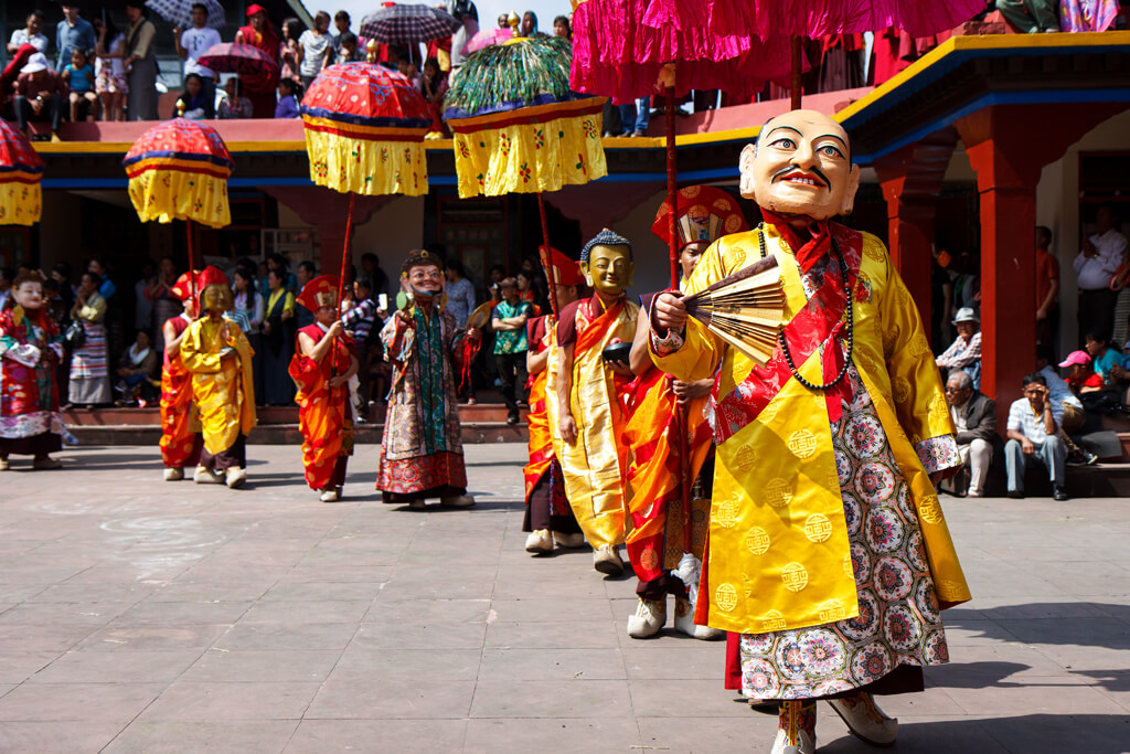 Mask-Dance-Festival-in-Lachen-Monastery-North-Sikkim