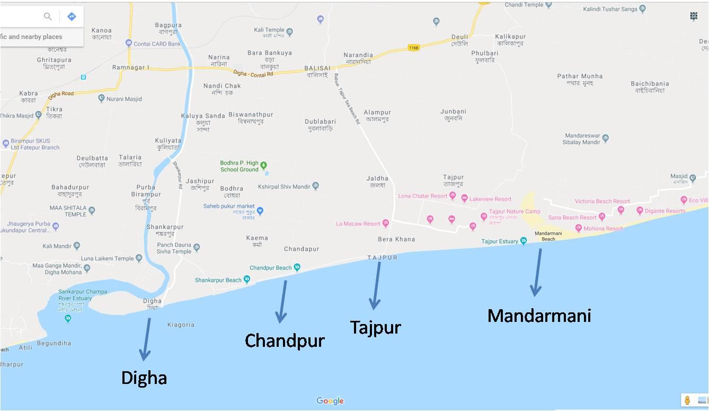 Tajpur-Location