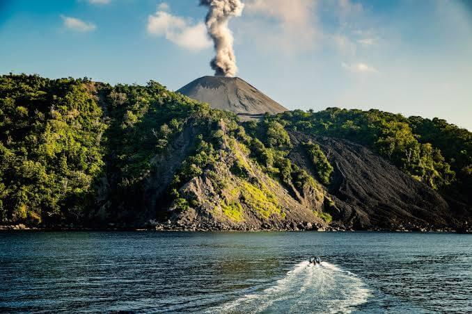 Barren Island Volcano, Andaman