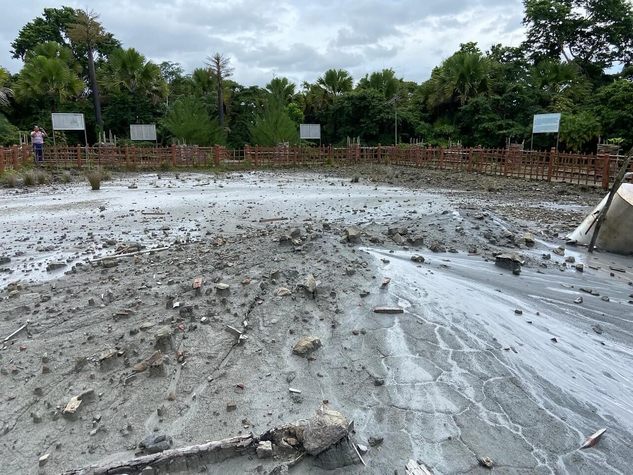 Mud Volcanoes in Andaman